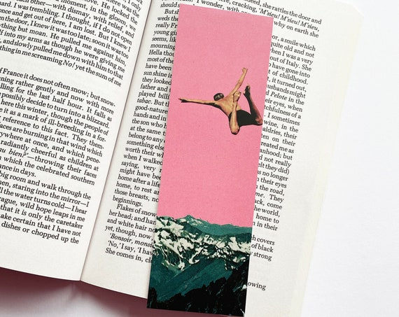 Mountain Bookmark - Higher Than Mountains