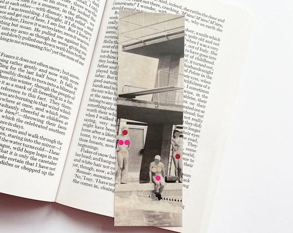 Retro Pool Bookmark - Modesty