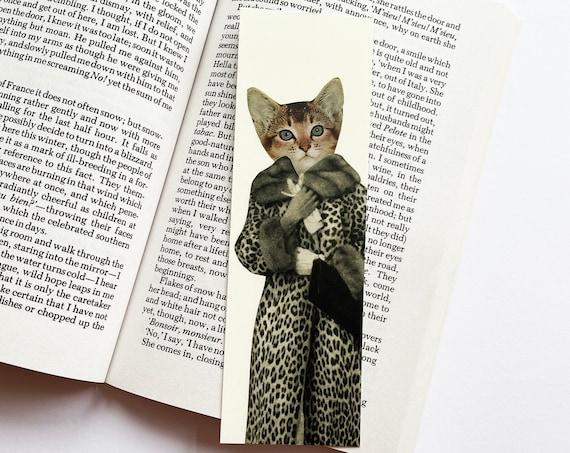 Cat Bookmark - Kitten Dressed as Cat