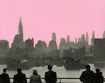 CLEARANCE SALE! New York Print - New York Nights