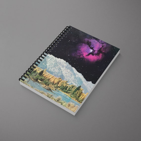 Space Spiral Notebook - Time and Space