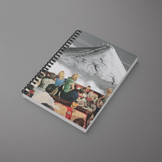 Volcano Spiral Notebook - Prime Location