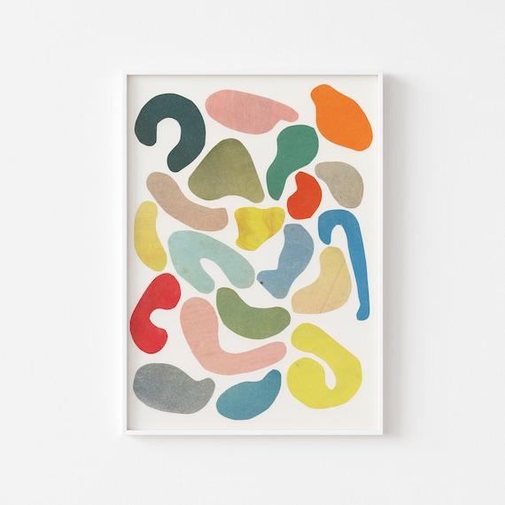 Abstract Art Print - Organic