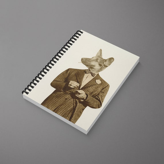 Dog Spiral Notebook - Play it Cool
