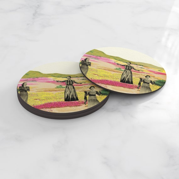 Art Coasters, Home Gifts, Tableware - Human Cacti