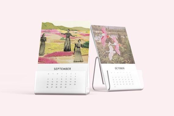 2022 Desk Calendar, Mini Calendar - Maximalism
