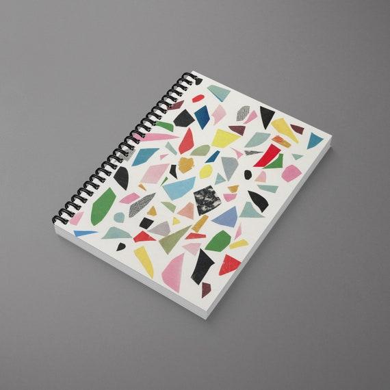 Terrazzo Spiral Notebook - White Terrazzo
