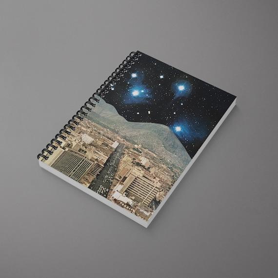 Sci Fi Spiral Notebook - Space City