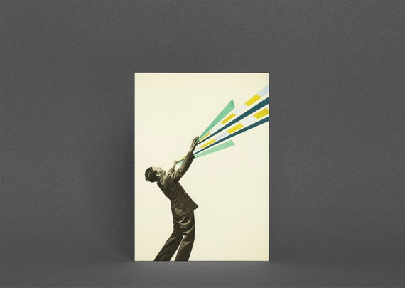 Male Portrait Card - The Power of Magic