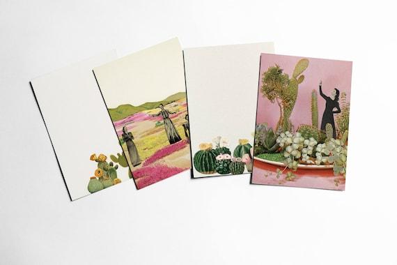 Cactus Postcard Set, Cactus Gifts - Cacti