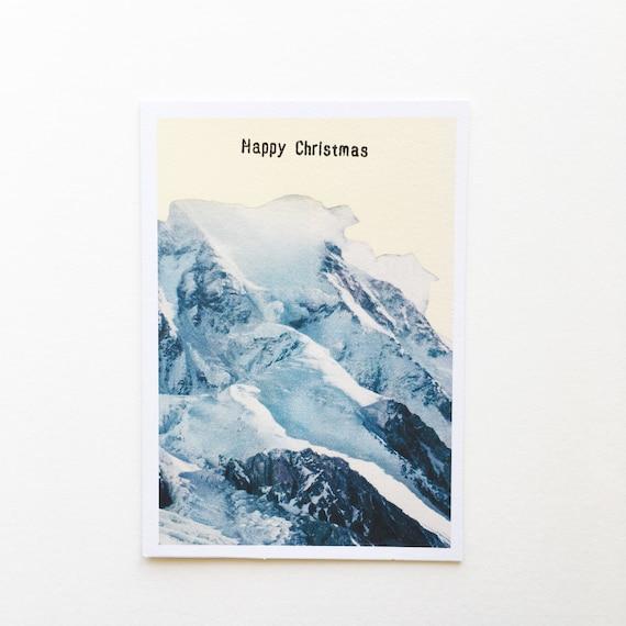 Mountain Card, Christmas Cards, Sale - Happy Christmas