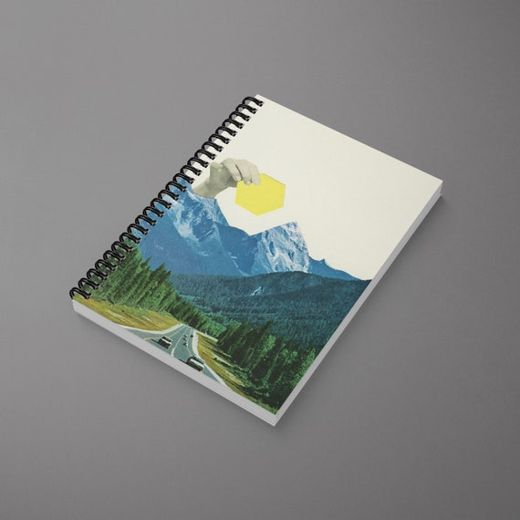 Mountain Spiral Notebook - Moving Mountains