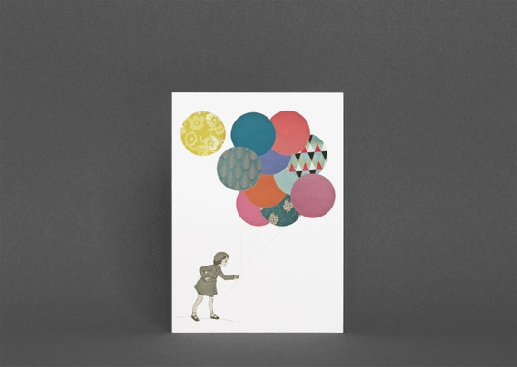 Greetings Card for Girl - Party Girl