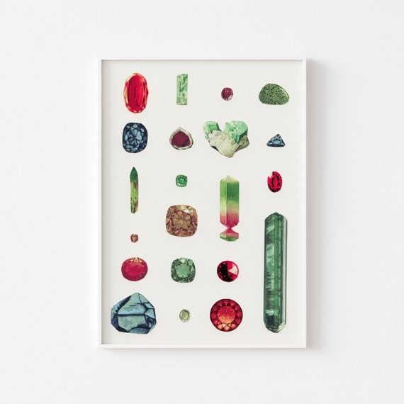 Jewel Print - Precious Stones