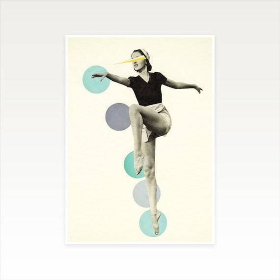 A3 Portrait Print, Dance Studio Art, Clearance Sale - The Rules of Dance I