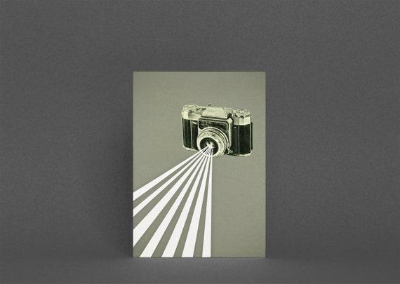 Camera Greeting Card - Depth of Field