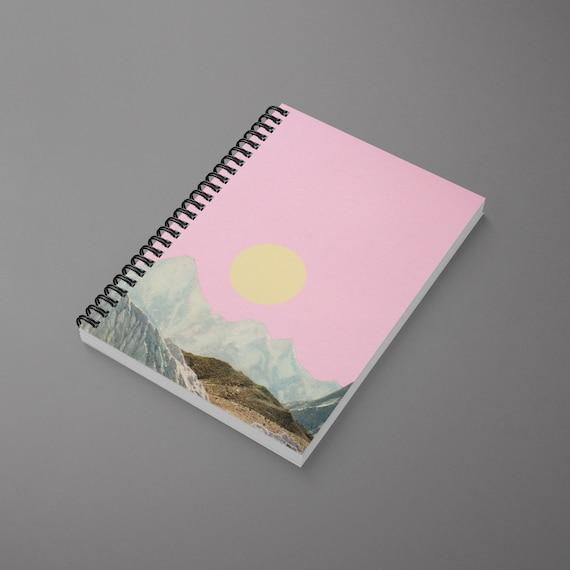 Mountain Spiral Notebook - Late Summer Sun