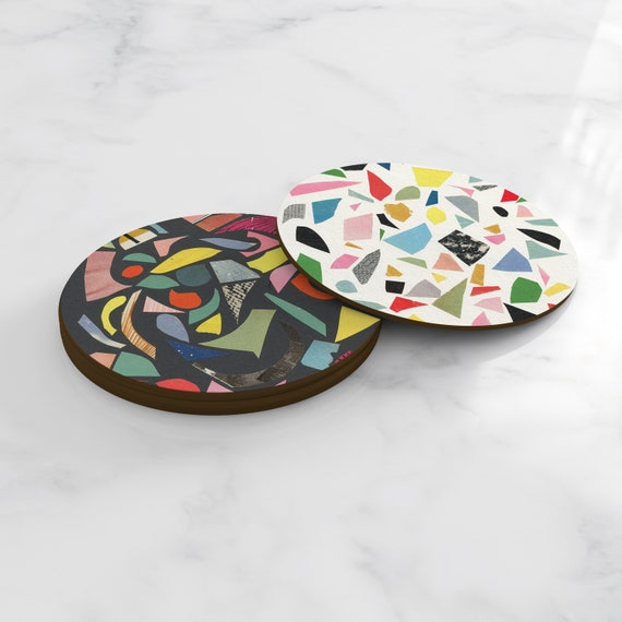 Terrazzo Coasters, Home Gifts, Tableware - Terrazzo Mix