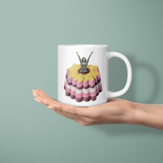 Retro Mug, Food Gifts - Blancmange Surprise