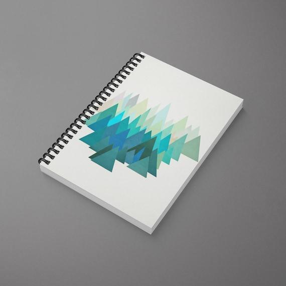 Mountain Spiral Notebook - Cold Mountain