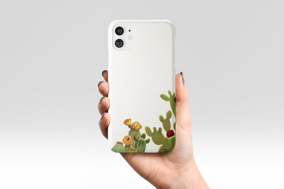 Botanical Phone Case, Cactus Device Cover, Gift for Gardener - Cactus Garden II