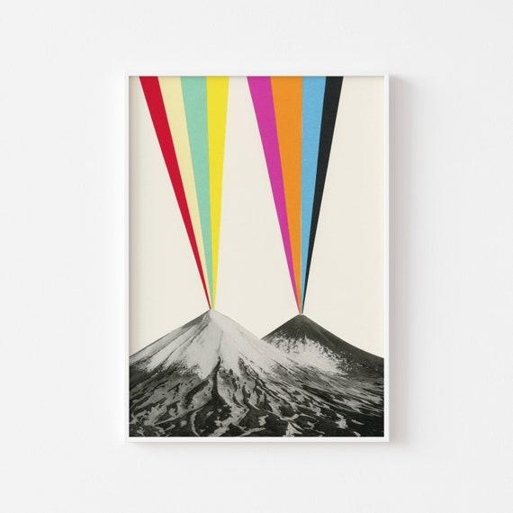 Volcano Print - Volcanos