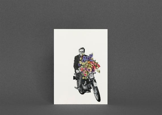 Motorbike Greetings Card - Pimp My Ride