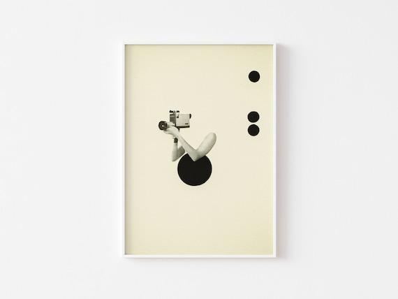 Movie Poster, Surreal Art, Film Decor - Film Noir