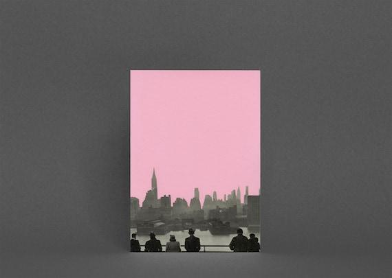 New York Card, Romantic Valentine's Day Card, Anniversary Card - New York Nights