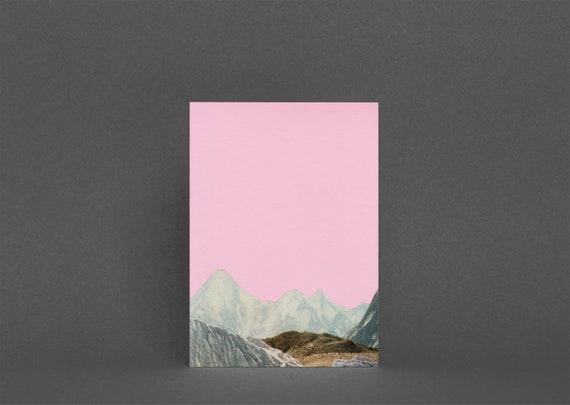 Mountain Card, Blank Greetings Card - Silent Hills