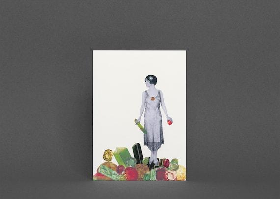 Art Greeting Card - Jewel Thief