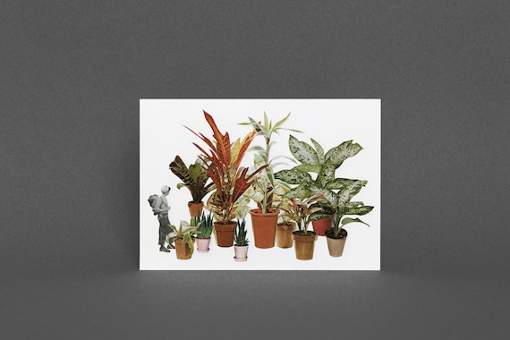 Surreal Art Card - It's a Jungle Out There