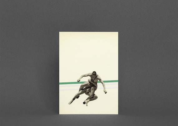 Wrestling Card, Fathers Day Card - The Wrestler