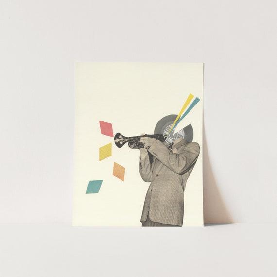 Original Collage - Blue Note