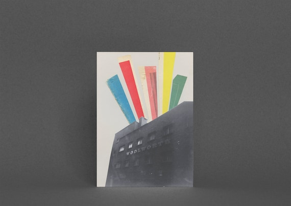 Brighton Card, Architecture Greetings Card - Days Gone By