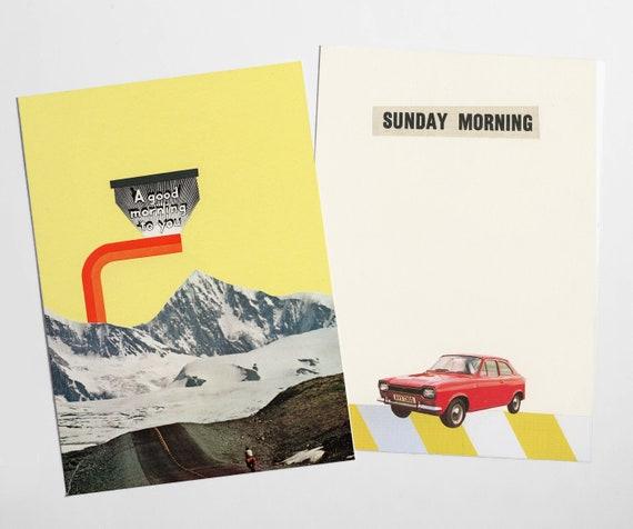 Travel Postcard Set - Good Morning