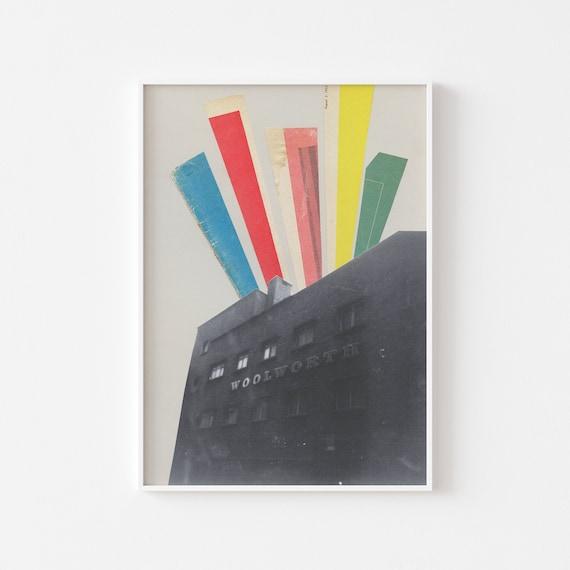 Brighton Print, Architecture Art - Days Gone By