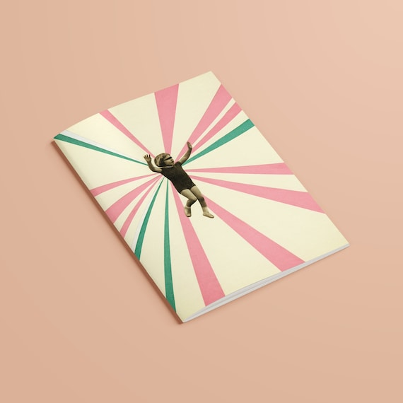 CLEARANCE SALE A5 100% Recycled Notebook - Play
