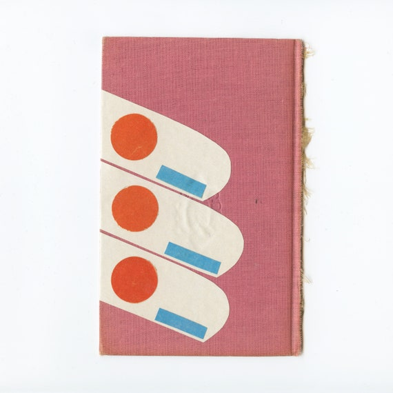 Original Abstract Collage Art on Book Cover - Miami Balcony