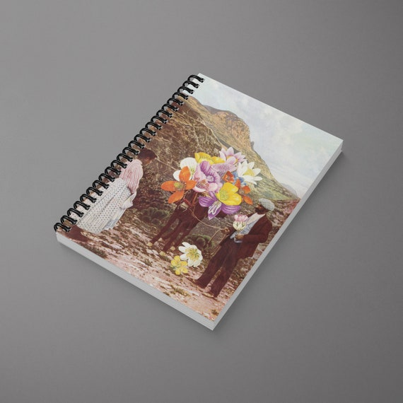 Art Spiral Notebook - The Suitor