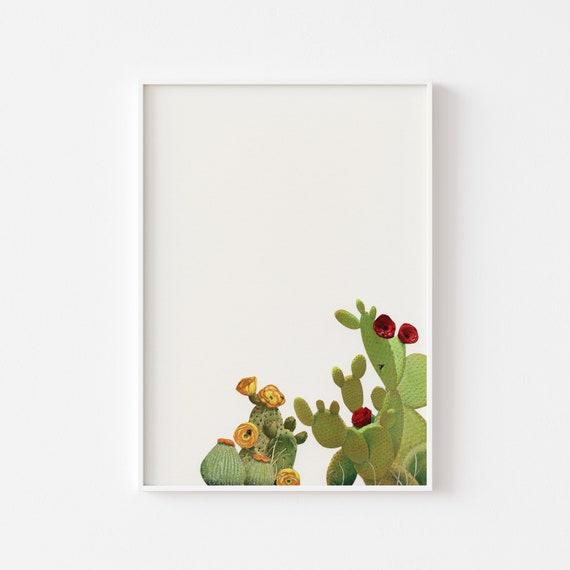 Cactus Print, Botanical Art - Cactus Garden II