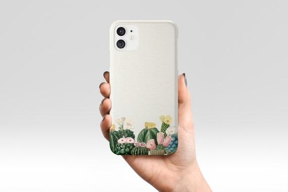 Cactus Phone Case, Botanical Device Cover, Gift for Gardener - Cactus Garden
