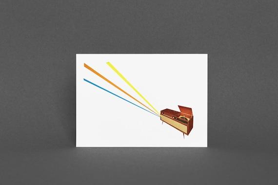 Music Greeting Card - Broadcast