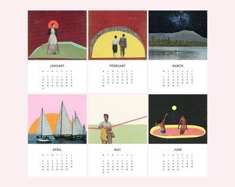 2022 Desk Calendar, Mini Calendar - Cassia Beck