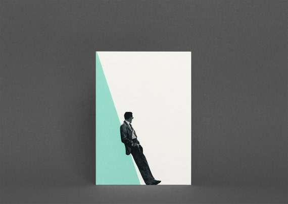 Greetings Card - Cool as a Cucumber