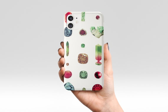 Gems and Jewels Phone Case, Colourful Device Cover - Precious Stones