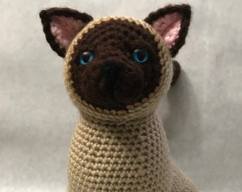 Siamese Cat - Amigurumi Crochet Pattern