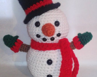 Snowman - Amigurumi Crochet Pattern