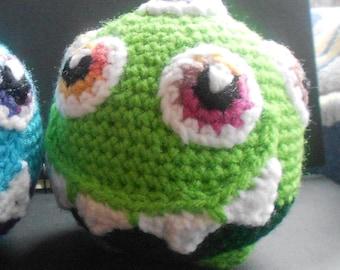 Eye Ball - Amigurumi Crochet Pattern