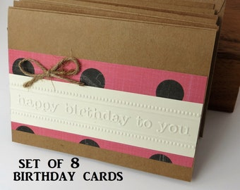 Birthday Cards Handmade Happy Card Set Bulk Of